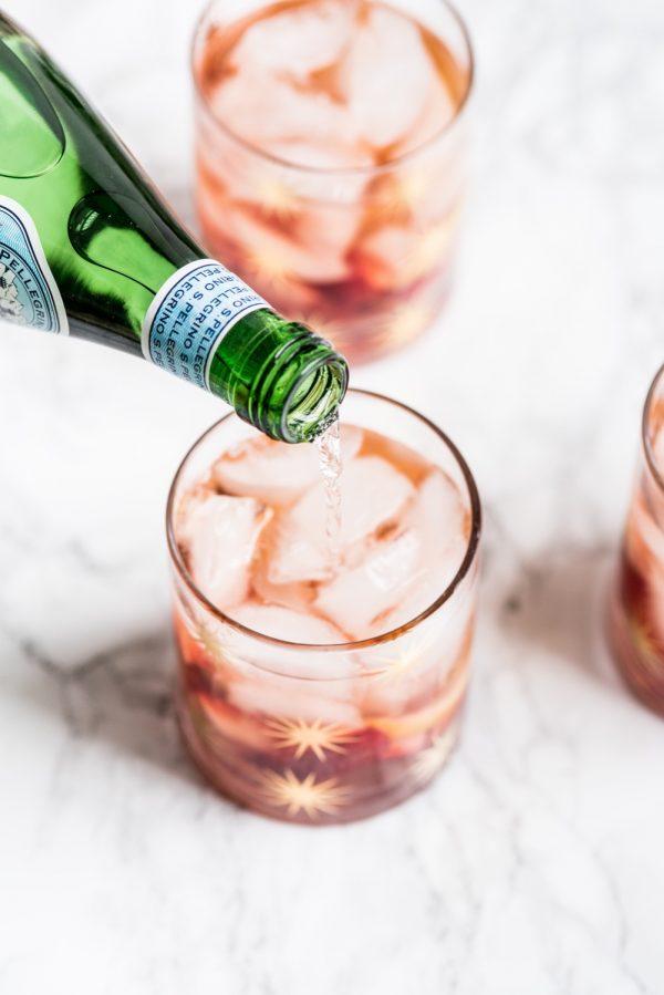 Rosé Spritzer Recipe from @cydconverse