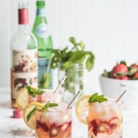 Summer's Perfect Rosé Spritzer
