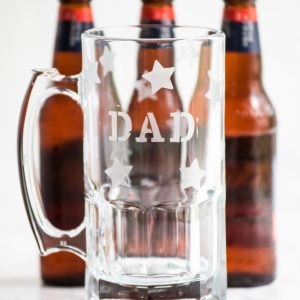 DIY Etched Beer Mugs for Dad thumbnail