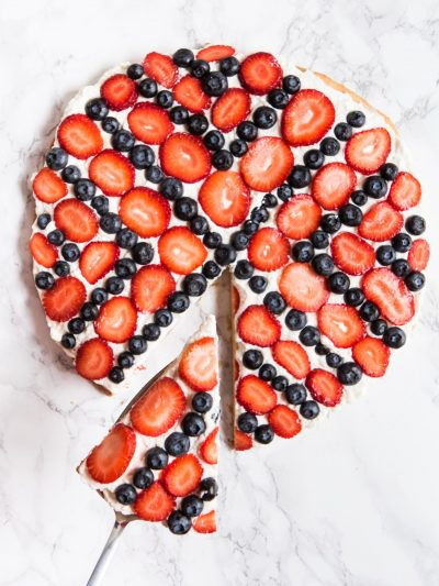 Americana Sugar Cookie Fruit Pizza thumbnail