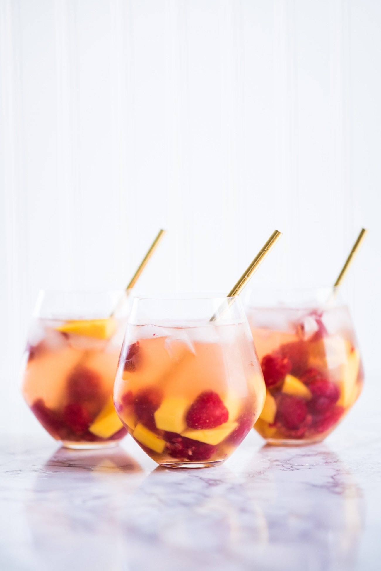 Sparkling Summer Solstice Sangria Recipe | Entertaining tips, cocktail recipes, party ideas, summer solstice ideas and more from @cydconverse