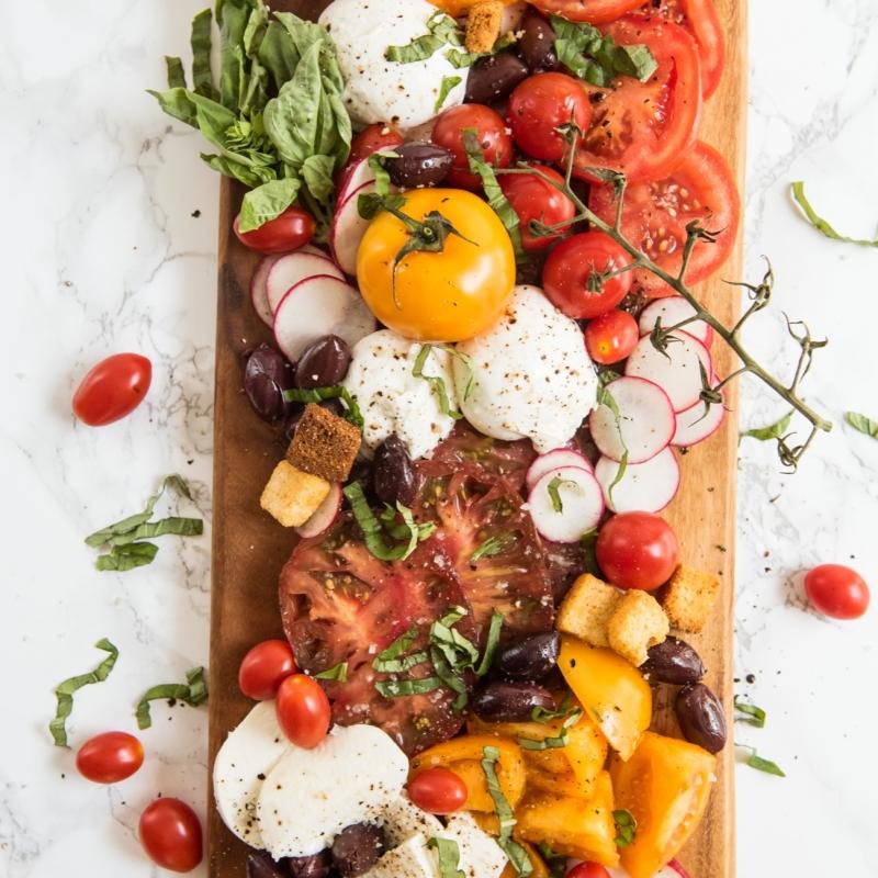 The Ultimate Caprese Salad Board