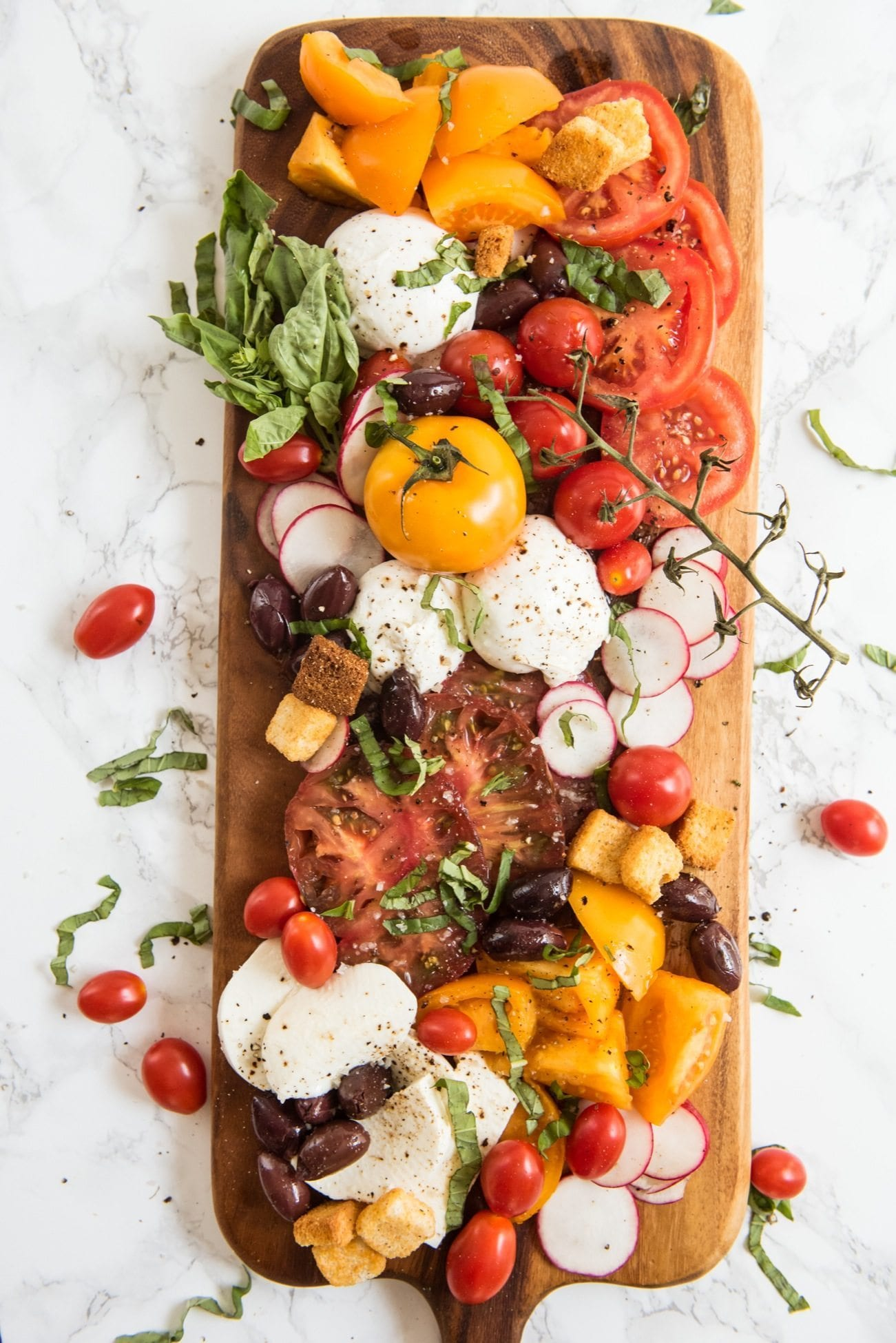 The Ultimate Caprese Salad Board