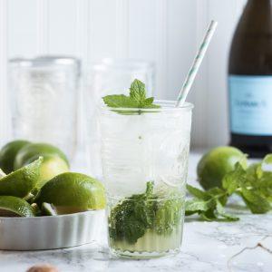 Summery Champagne Mojitos thumbnail