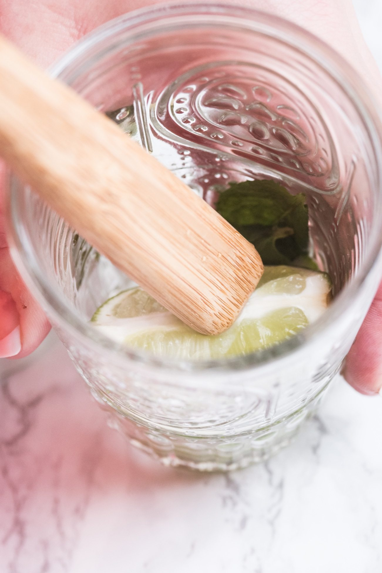 Champagne Mojito Recipe   Cocktail recipes, entertaining tips, party ideas, party recipes and more from @cydconverse