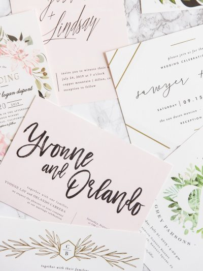 We're Getting Married! Choosing Our Wedding Invitations thumbnail