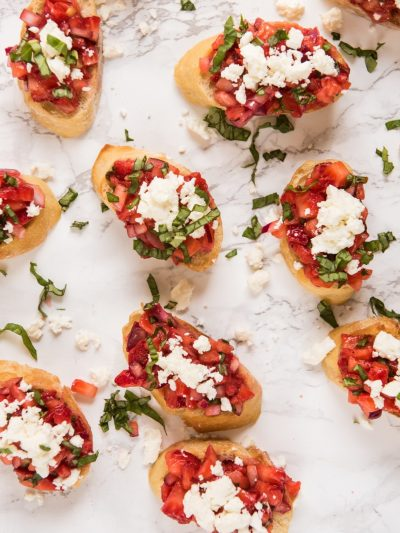 Strawberry Feta Bruschetta thumbnail