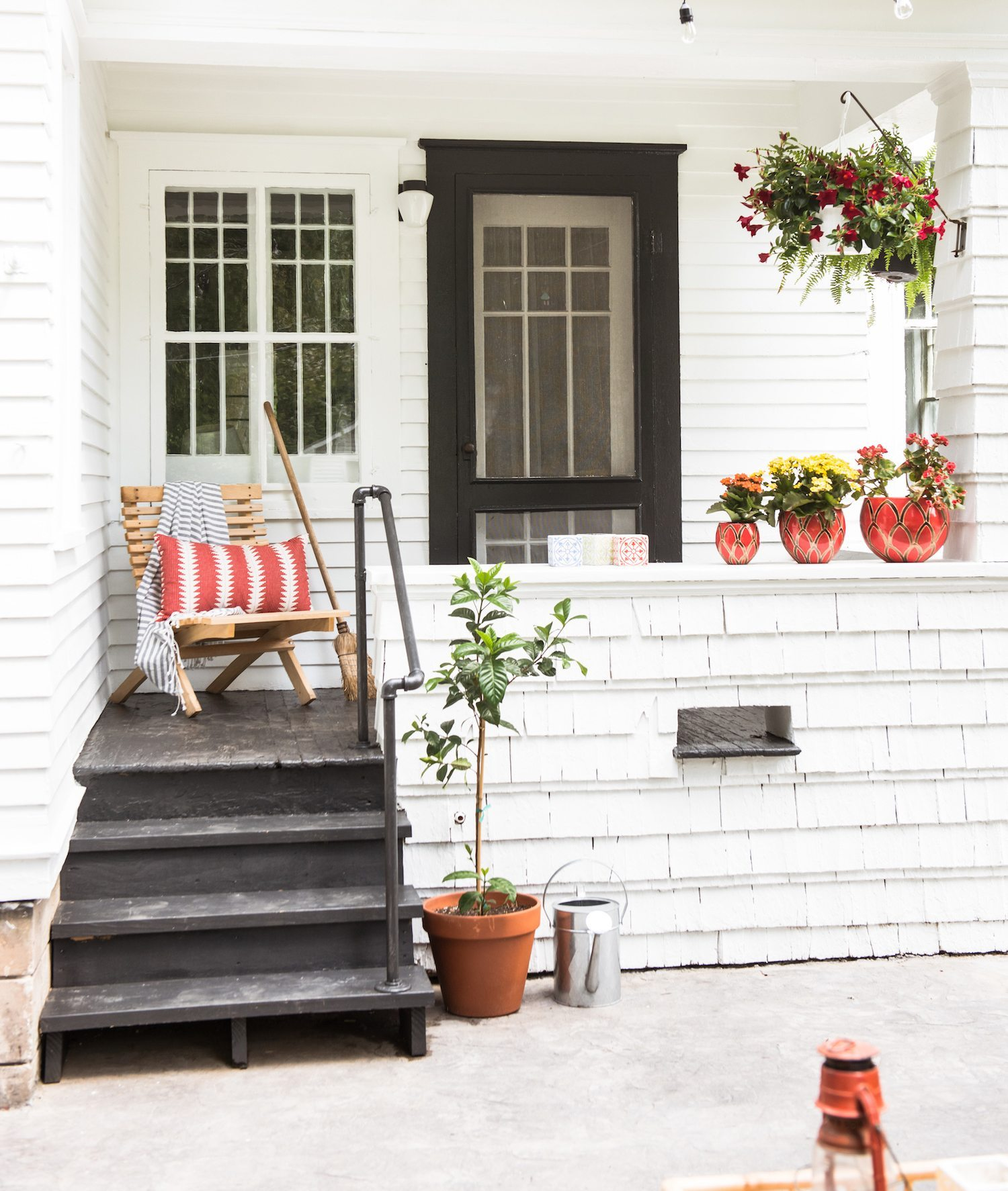 Our Backyard Makeover + New Patio Reveal (Before and After ... on Backyard Patio Makeover id=37393