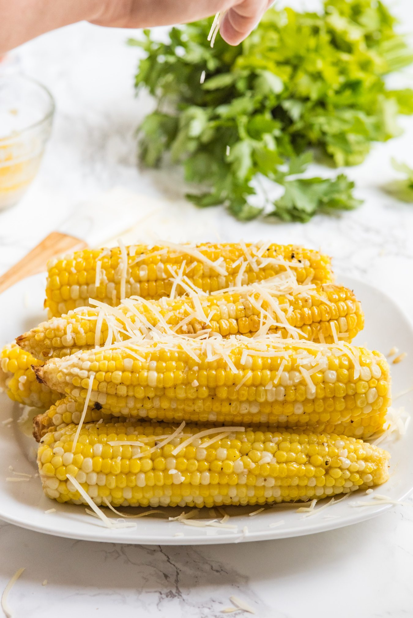 Garlic Butter Grilled Corn on the Cob