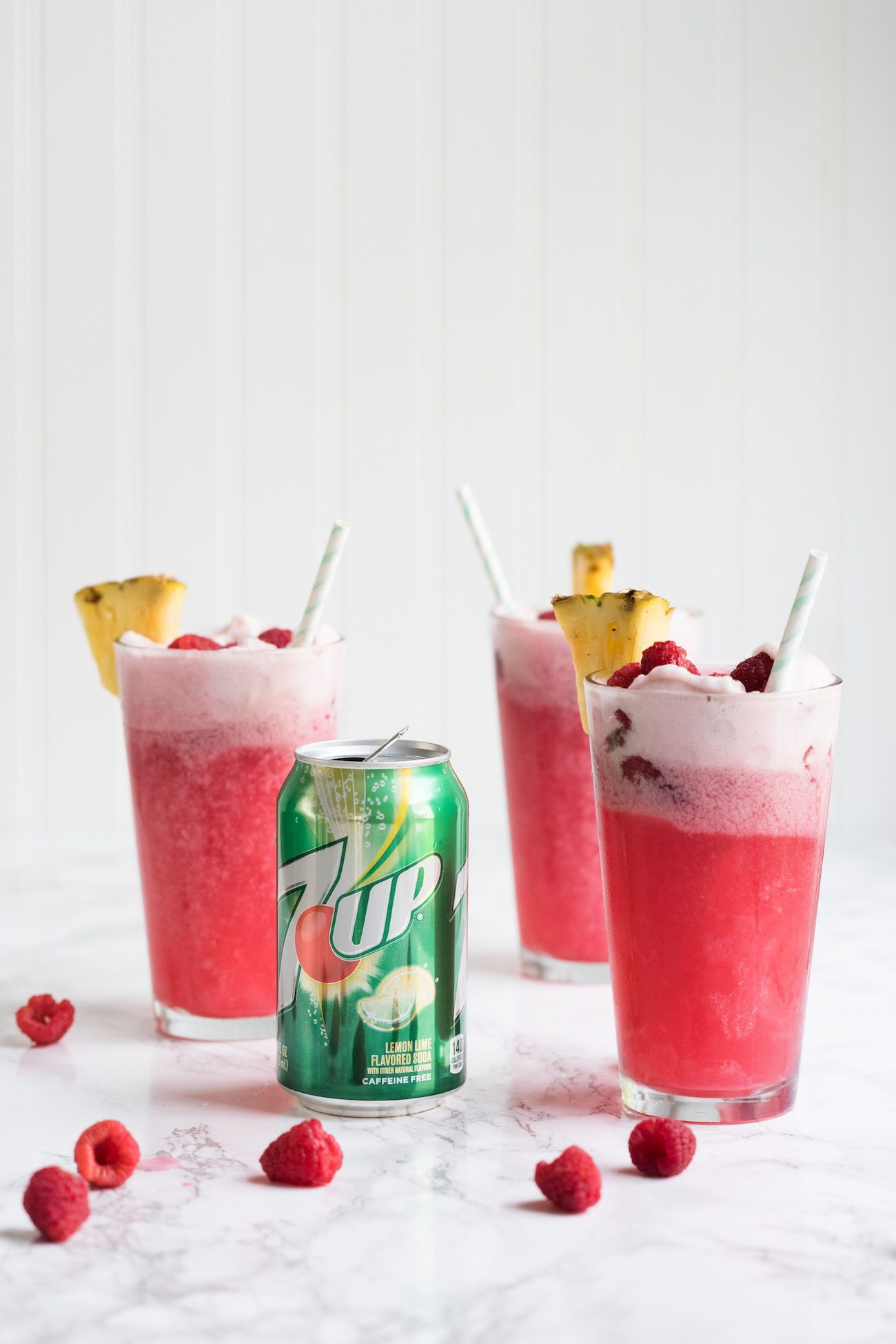 Raspberry Party Punch Sherbet Floats | Unique party ideas, entertaining tips, party recipes, cocktail recipes and more from @cydconverse