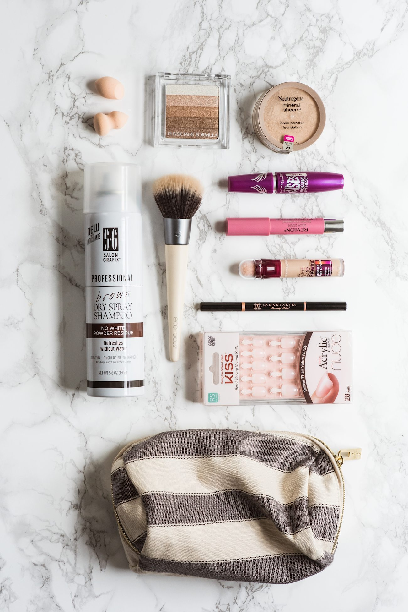 My 10 Favorite Everyday Beauty Products from @cydconverse