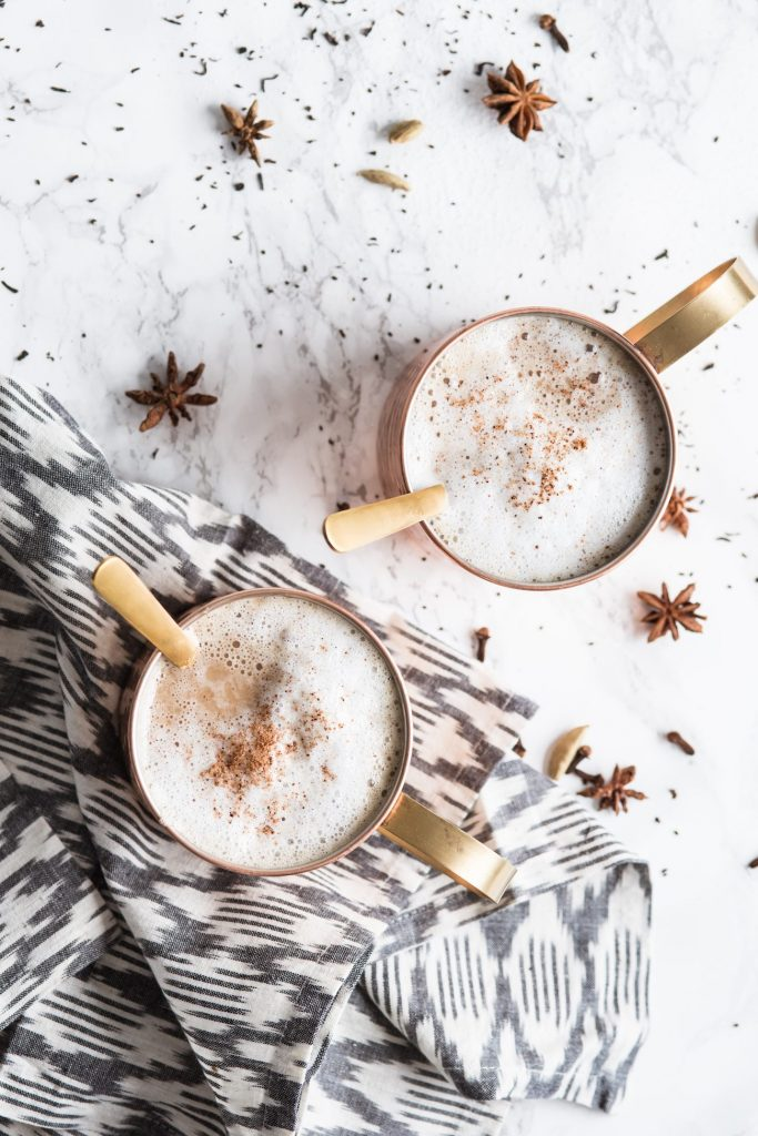 Homemade Chai Tea Latte Recipe | Entertaining tips, party ideas, recipes, cocktail recipes, party recipes and more from @cydconverse