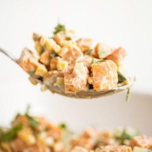Roasted Sweet Potato Salad thumbnail