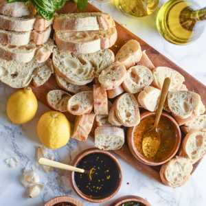 A Bread + Oil Appetizer Dipping Station thumbnail
