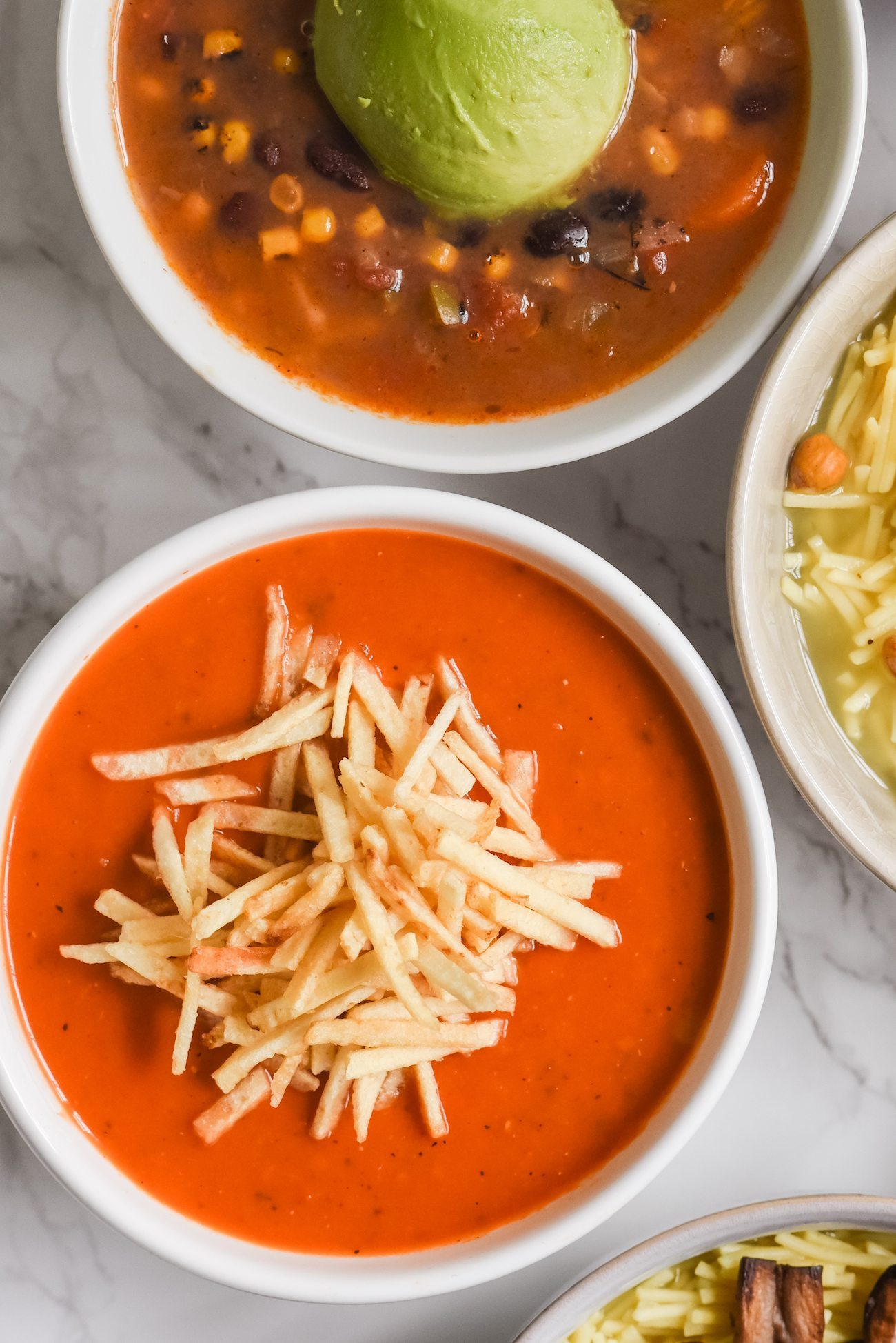 9 Seriously Scrumptious Soup Toppings | Entertaining ideas, hostess tips, party recipes, dinner party ideas and more from @cydconverse