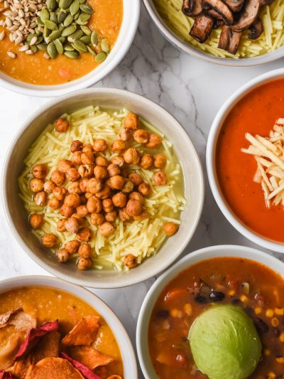 9 Seriously Scrumptious Soup Toppings thumbnail