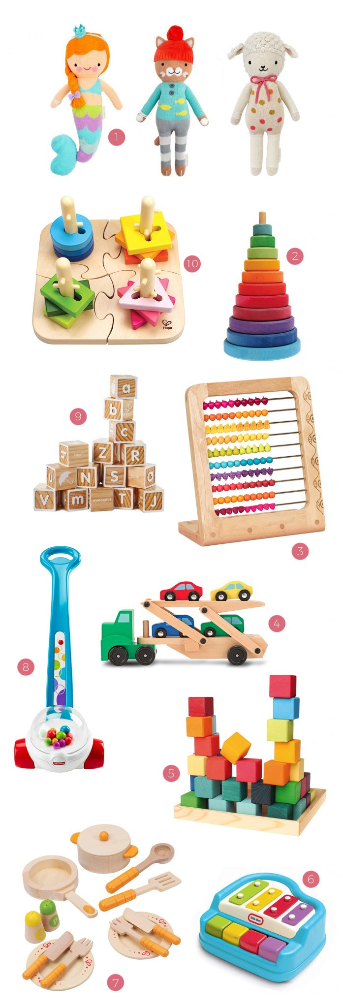 Best Toddler Toys and Best Baby Toys | Entertaining tips, party ideas, family friendly party ideas and more from @cydconverse