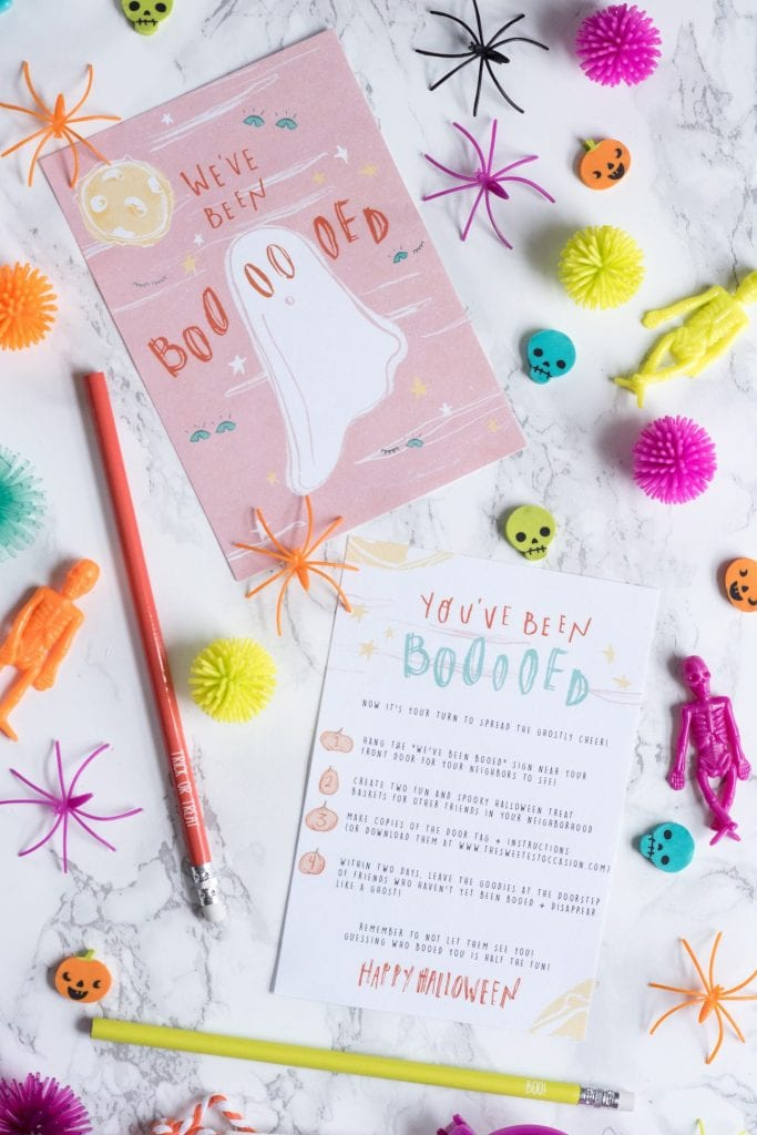 Trick or Treat! You've Been Booed Halloween Printables   Halloween ideas, Halloween party ideas, entertaining ideas, party recipes and more from @cydconverse