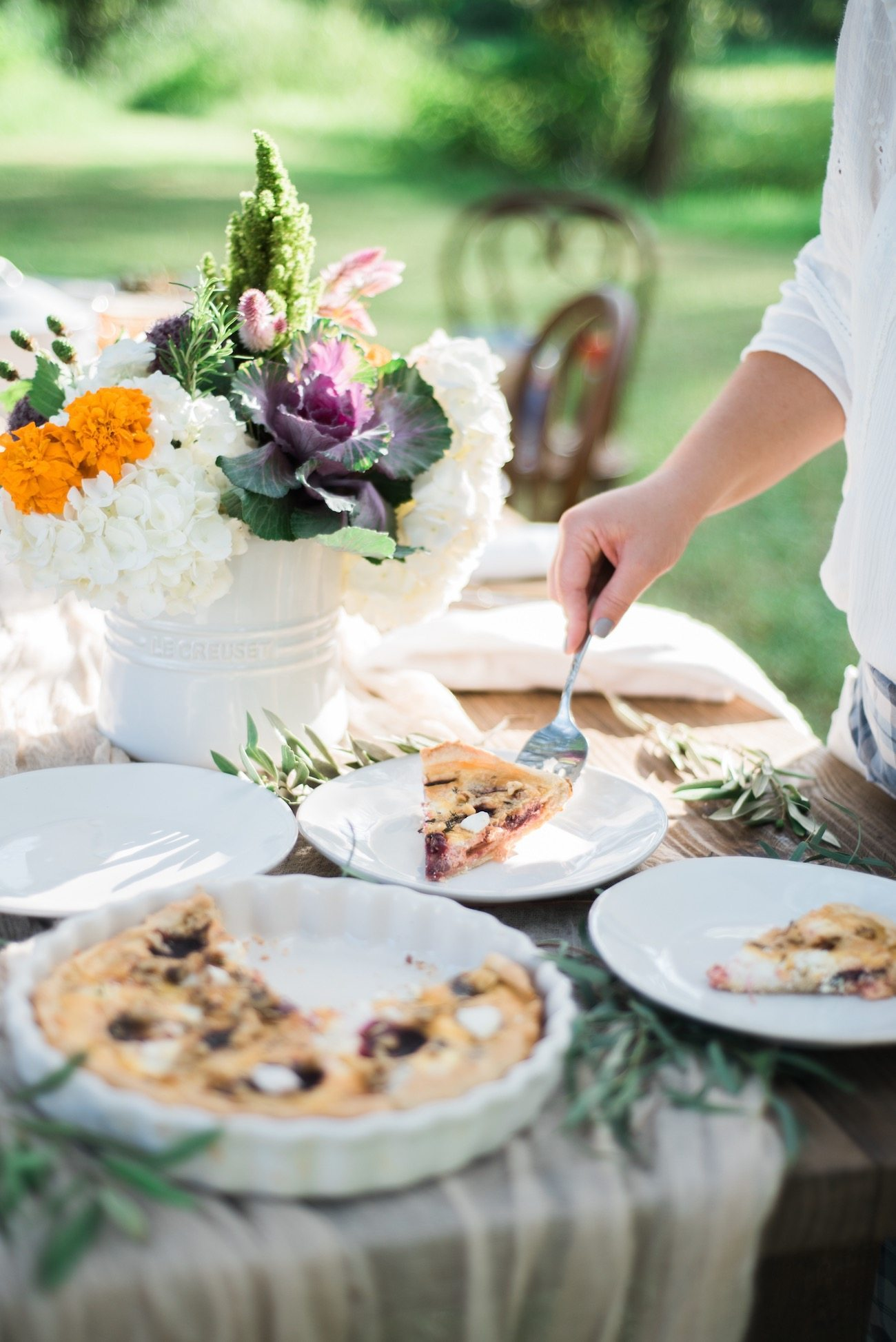 A Garden to Table Fall Dinner Party - The Sweetest Occasion