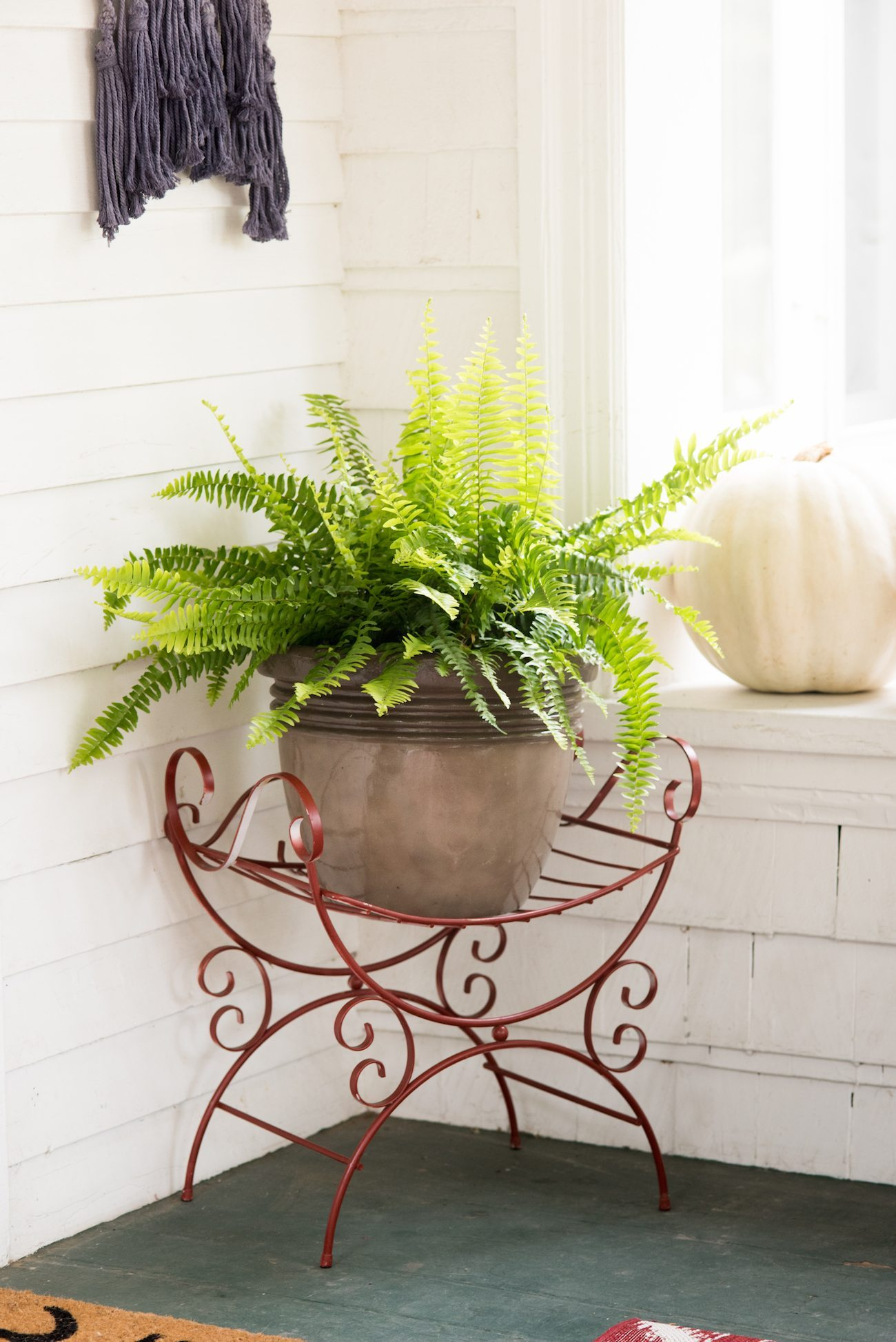 Our Fall Front Porch Decor | Fall decorating ideas, entertaining tips, party ideas and more from @cydconverse