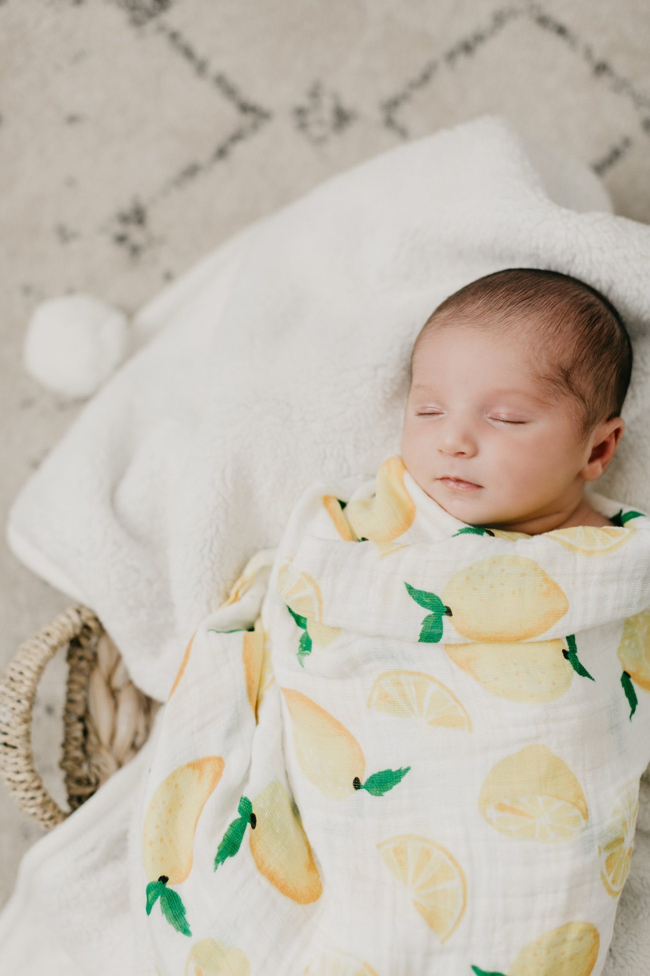 Florida Newborn Photos + Tropical Nursery Tour | Home decor inspiration, entertaining tips, party ideas and more from @cydconverse