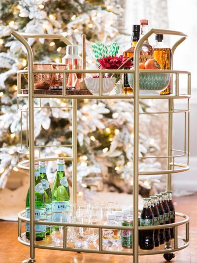 How to Stock the Perfect Holiday Bar Cart thumbnail