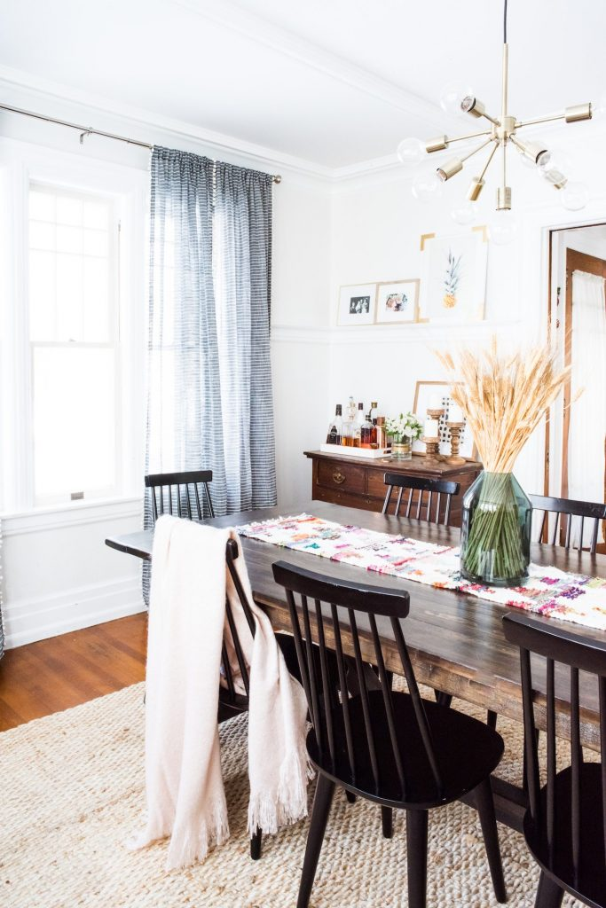 The Sweetest Occasion Dining Room Renovation | Modern classic dining room decor from @cydconverse