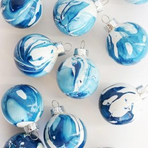 10 Gorgeous Homemade Ornaments You Can Make with Simple Glass Ornaments thumbnail