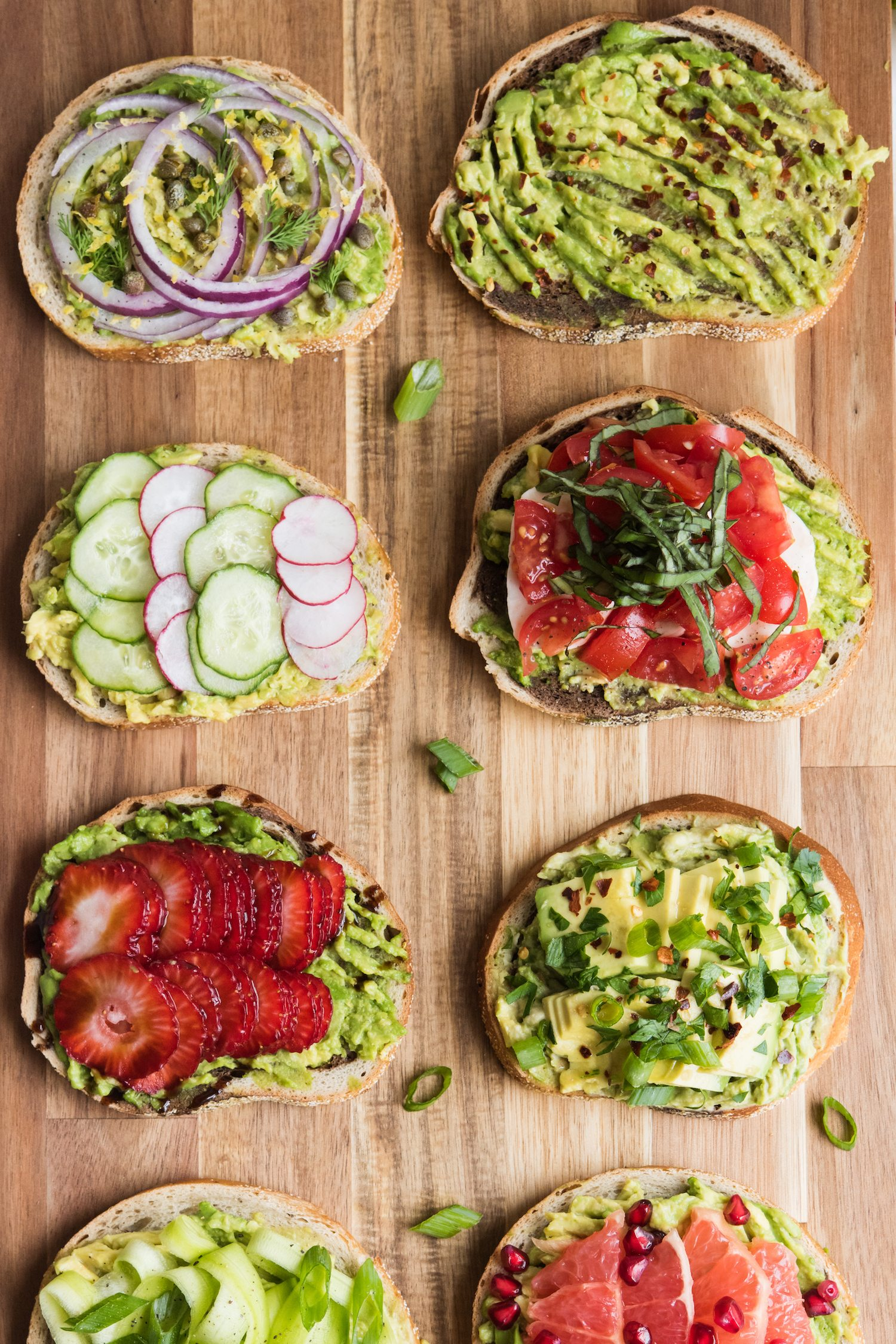 8 Awesome Ways to Make Avocado Toast | Unique avocado toast recipes, entertaining tips, party ideas and recipes from @cydconverse