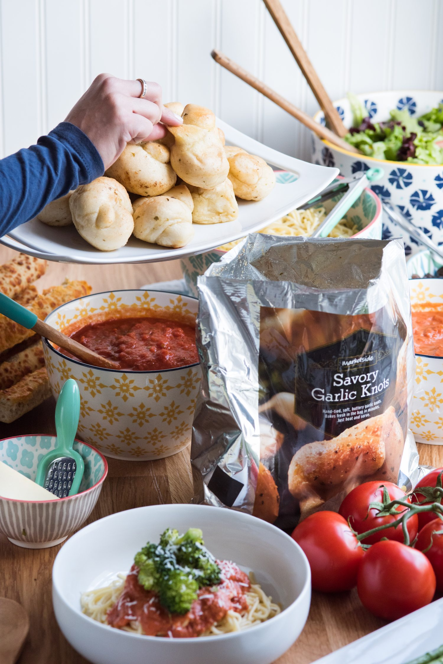 Entertain with a Make Your Own Pasta Bar   Click through to visit The Sweetest Occasion for entertaining tips, party ideas, party recipes and more from @cydconverse