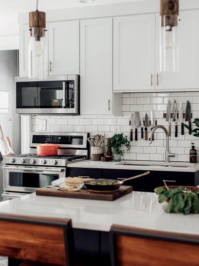Michelle + Nick's Super Chic Modern Boho Kitchen thumbnail