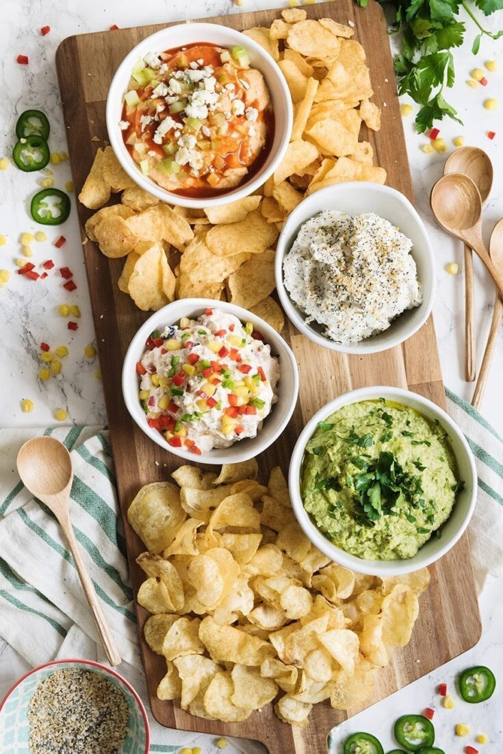 Four Ultimate Party Dip Recipes