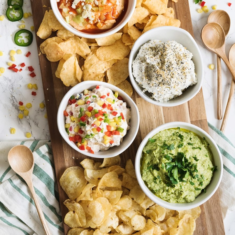 You Dip I Dip We Dip! 4 Party Dip Recipes That Take It To the Next Level