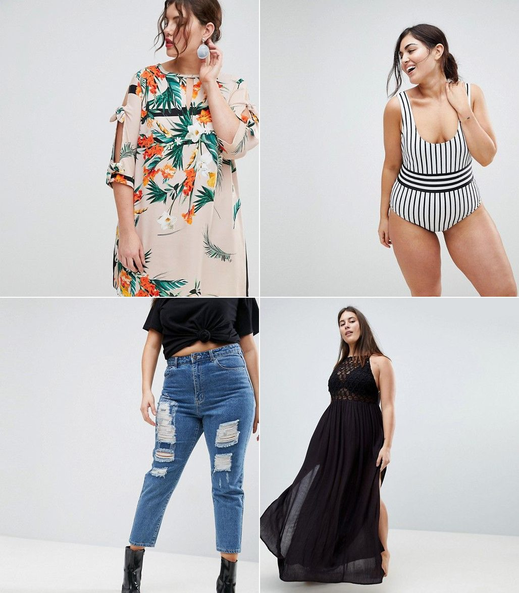 Where to shop for stylish and trendy plus size clothing - click through for all @cydconverse's favorite places to shop! | ASOS Curve Plus Size Review