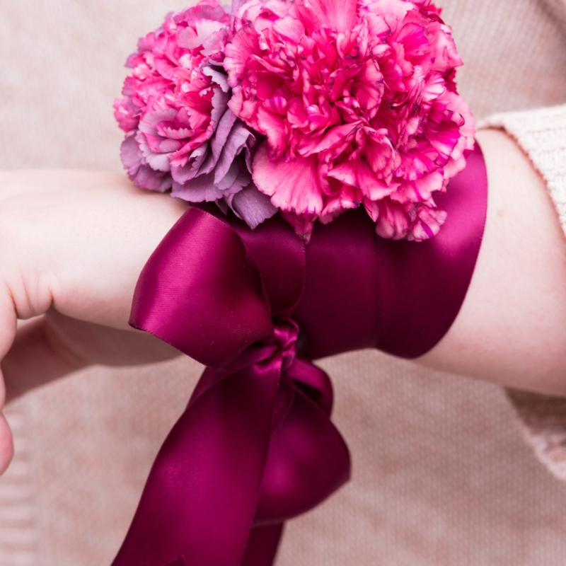 The Absolute Prettiest DIY Wrist Corsages for Mother's Day