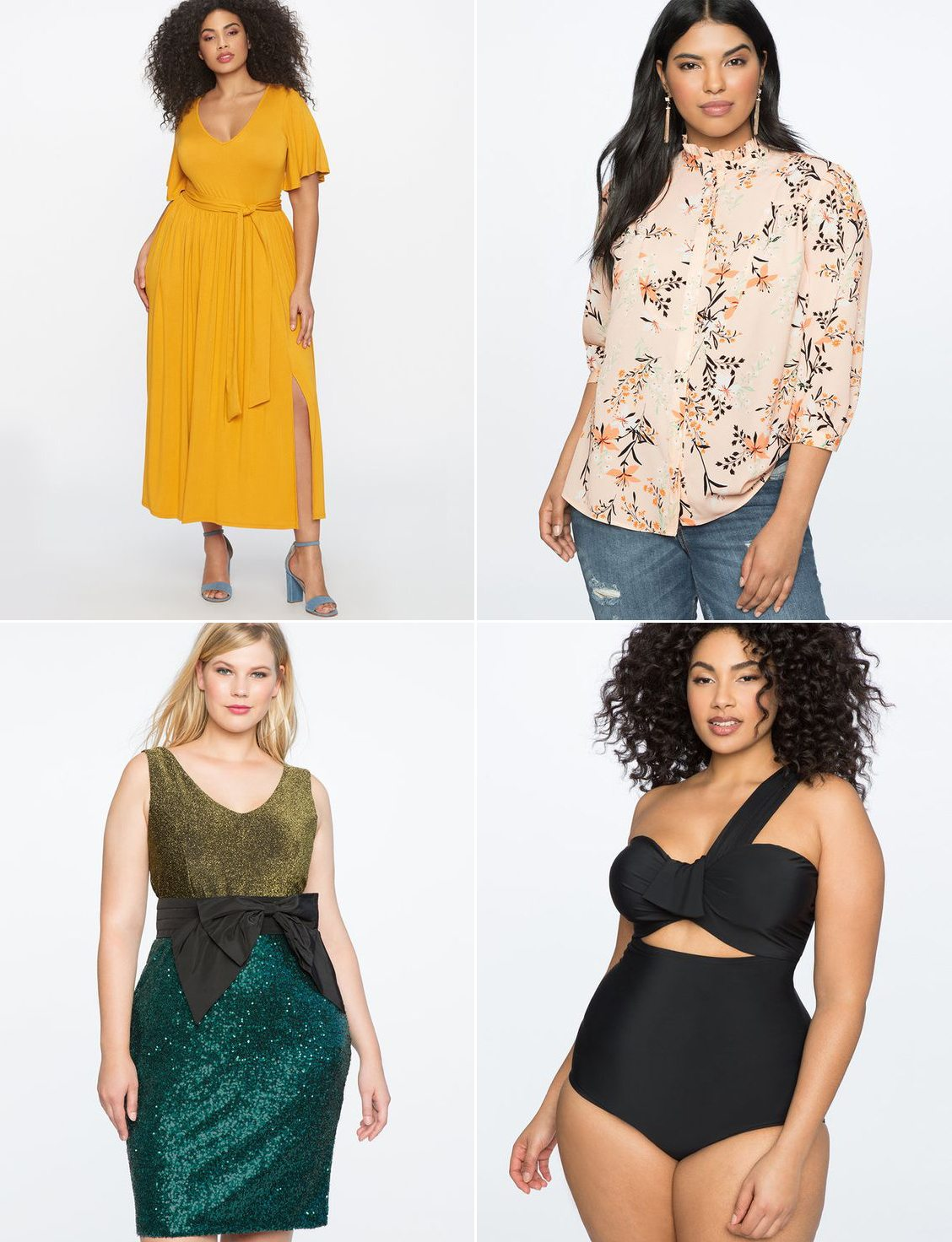 Where to shop for stylish and trendy plus size clothing - click through for all @cydconverse's favorite places to shop! | Eloquii Review