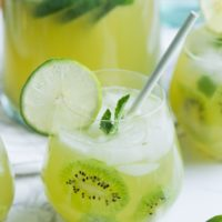 Kiwi Lime Mint Sangria Recipe