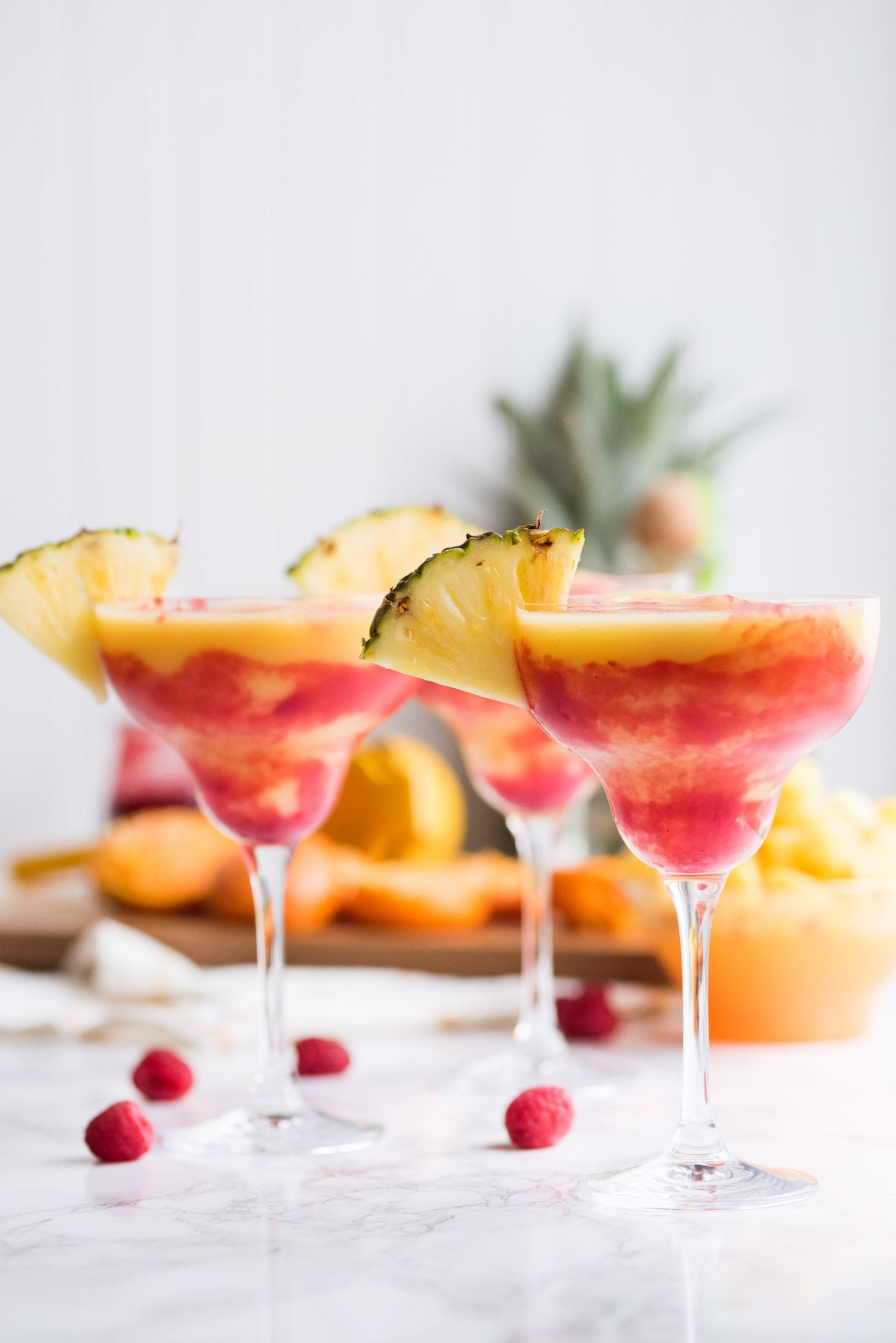 Pineapple Mango Margaritas