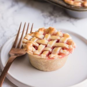 The World's Cutest Little Mini Strawberry Pies in a Muffin Tin thumbnail