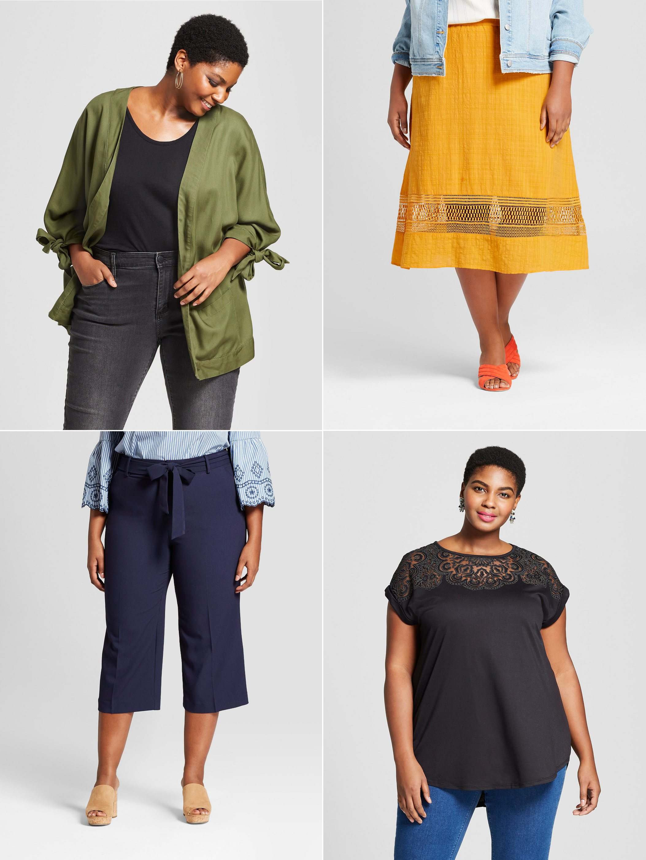 Where to shop for stylish and trendy plus size clothing - click through for all @cydconverse's favorite places to shop! | Target Ava & Viv Review