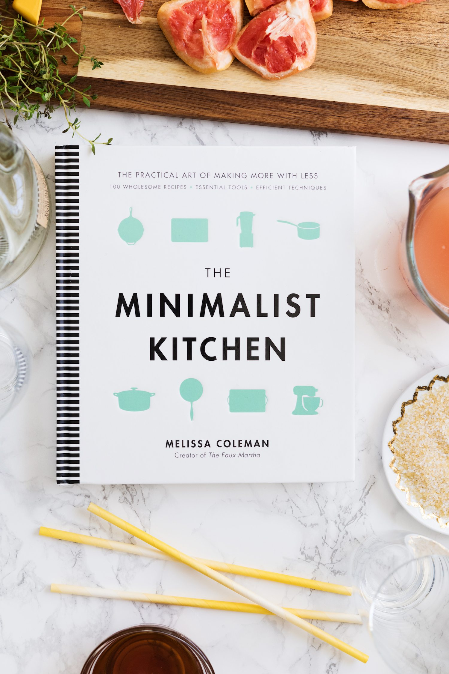 Maple Salty Dog Cocktail + The Minimalist Kitchen Book Review | Click through for cocktail recipes, entertaining tips, party ideas, party recipes and more from @cydconverse