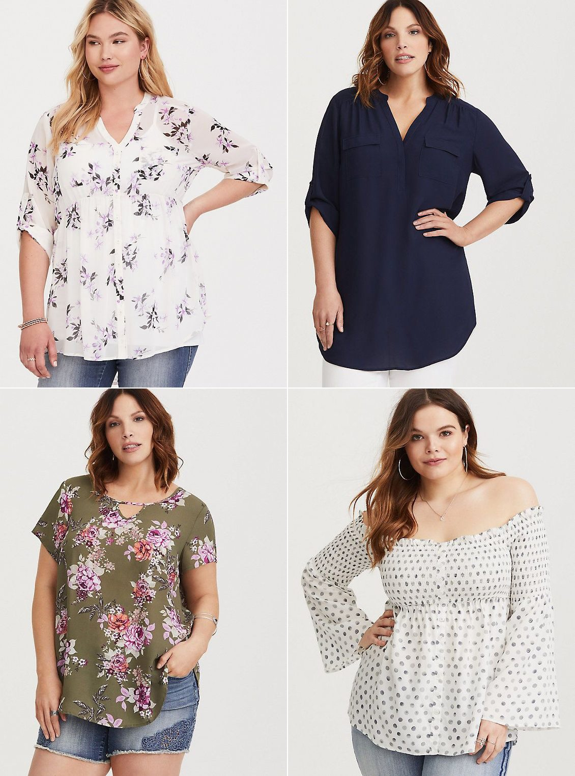 Where to shop for stylish and trendy plus size clothing - click through for all @cydconverse's favorite places to shop! | Torrid Review