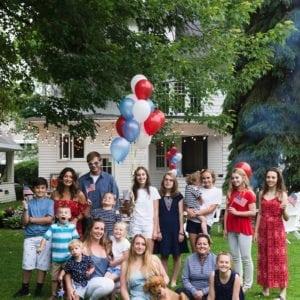 Give Me Liberty! A Modern Americana Inspired Backyard 4th of July Party thumbnail