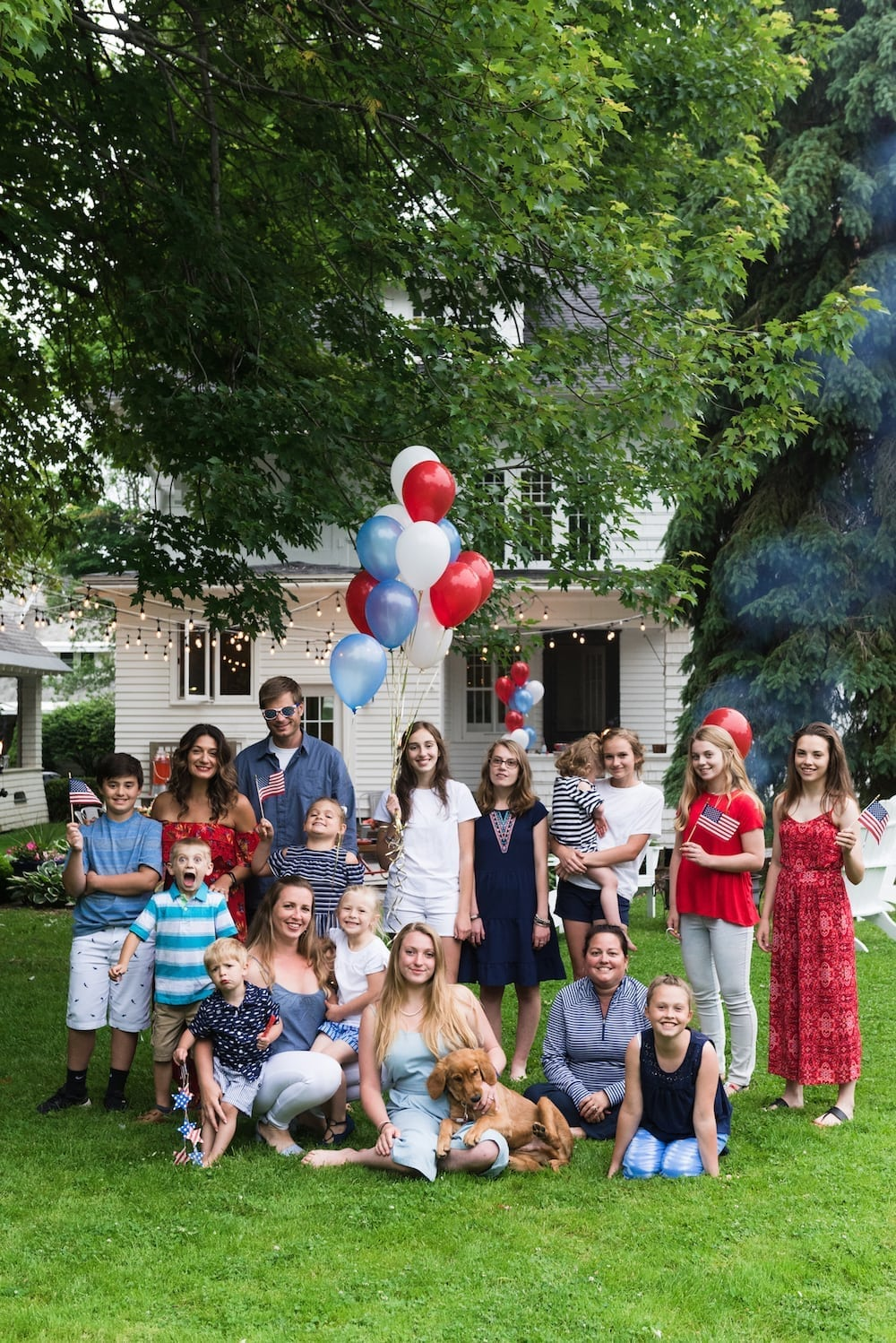 Give Me Liberty! A Modern Americana Inspired Backyard 4th of July Party
