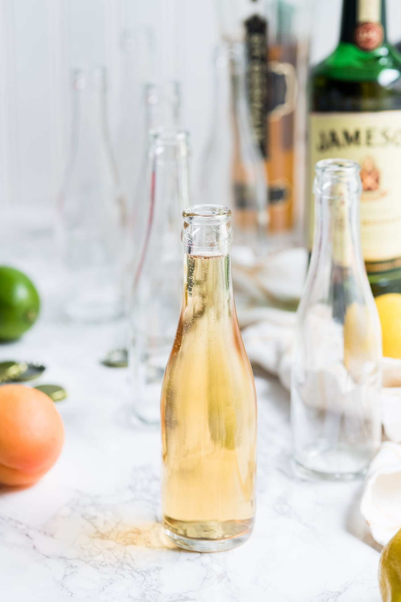 How to Make Bottled Cocktails | Summer cocktail recipes, entertaining tips, summer party ideas and more from @cydconverse