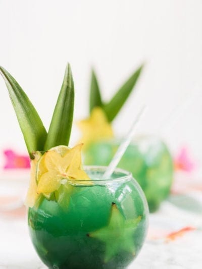 Rum Away with Me! Tiki Bar Inspired Mermaid Water Fish Bowl Drinks thumbnail