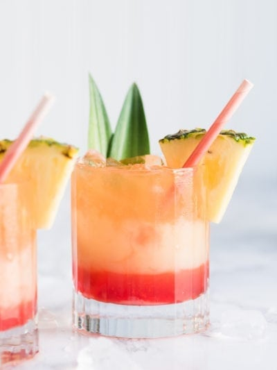 Say Sayonara Summer with a Mango Sunrise Piña Colada thumbnail
