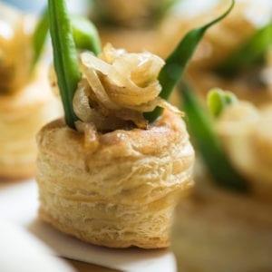 The Perfect Thanksgiving Appetizer: Mini Green Bean Casserole Puffs thumbnail