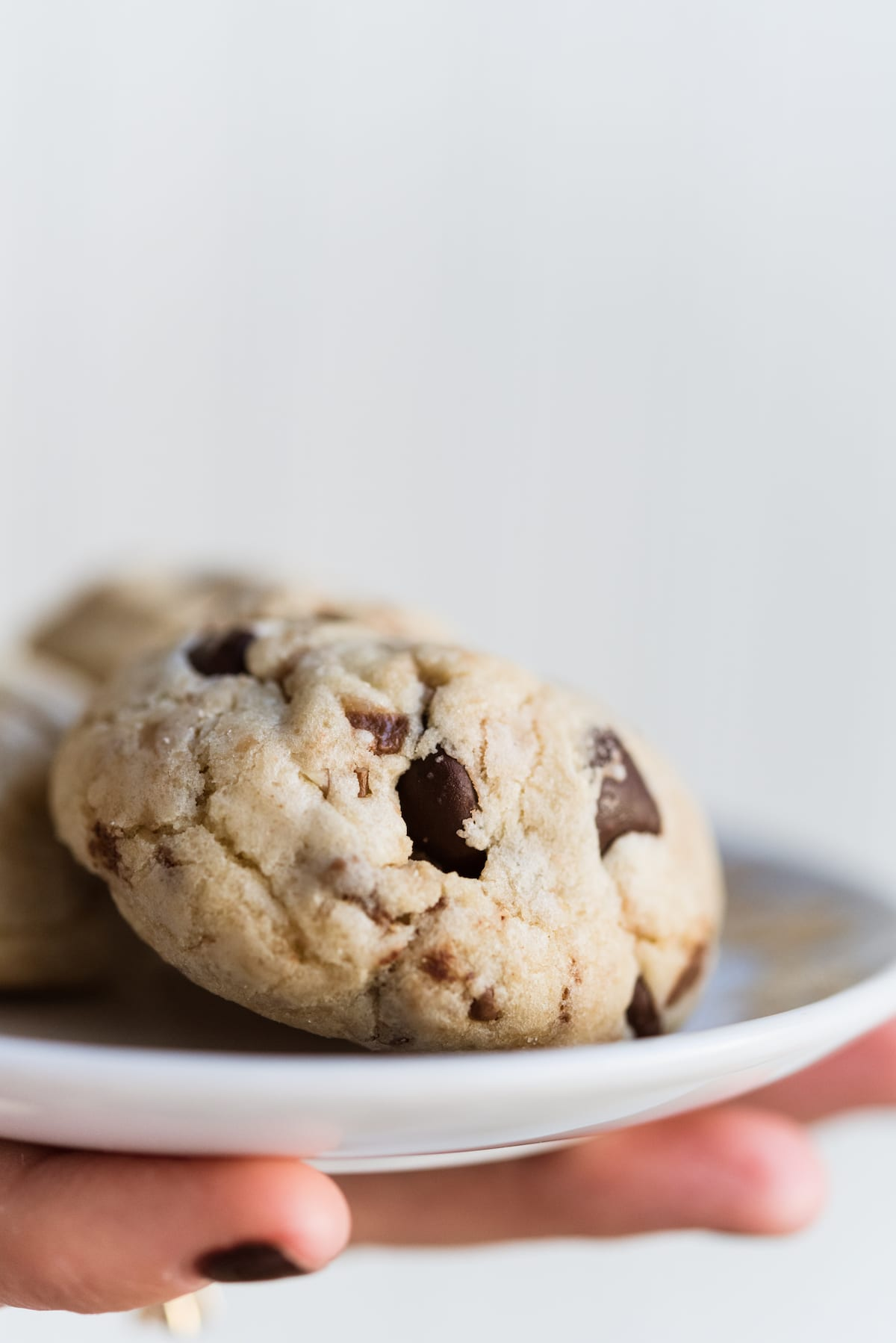 My New Favorite Dark Chocolate Chip + Toffee Cookies with Pecans ...