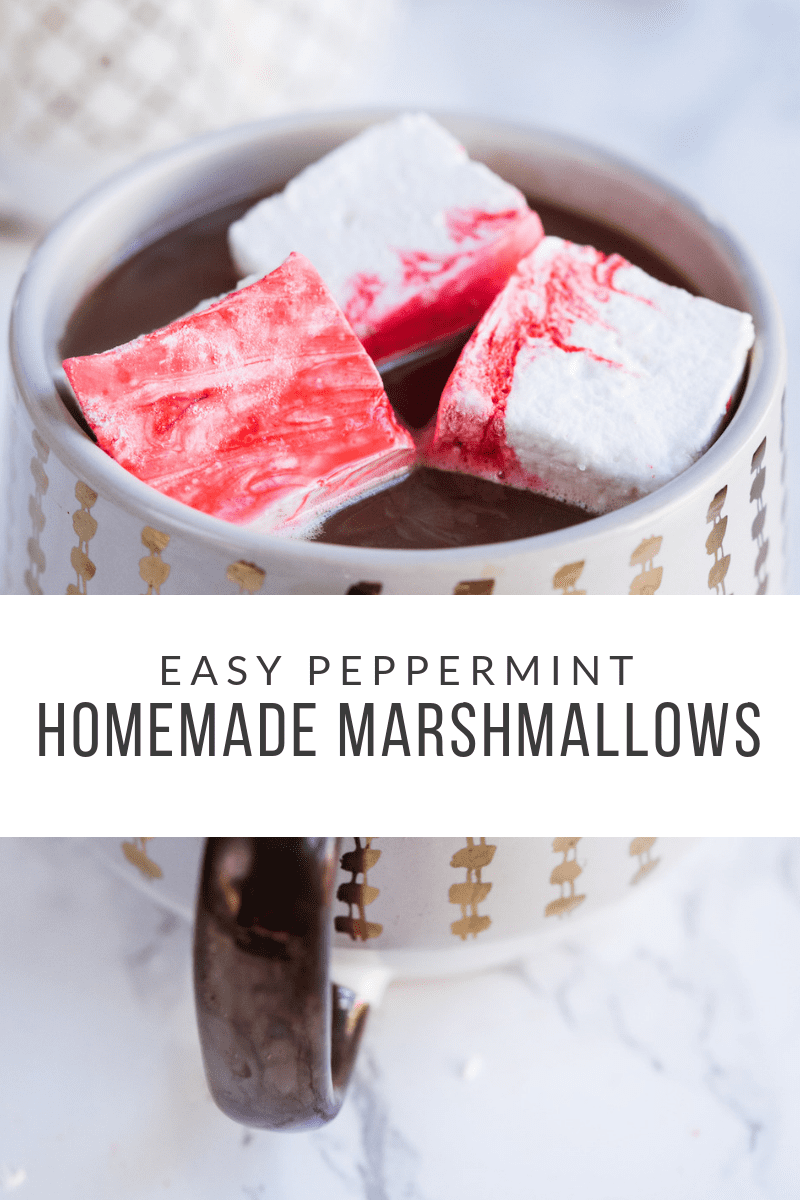 How to Make Homemade Marshmallows and a Peppermint Marshmallow Recipe | Christmas recipes, Christmas party ideas, entertaining tips and more from entertaining blog @cydconverse